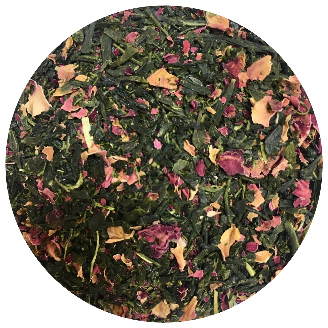 ローズ緑茶